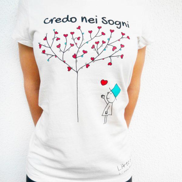 T- Shirt Io Credo Nei Sogni