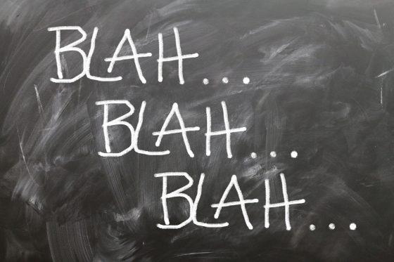 """Tre modi per azzittire i """"bla bla"""" che ti senti dire quando insegui un sogno"""