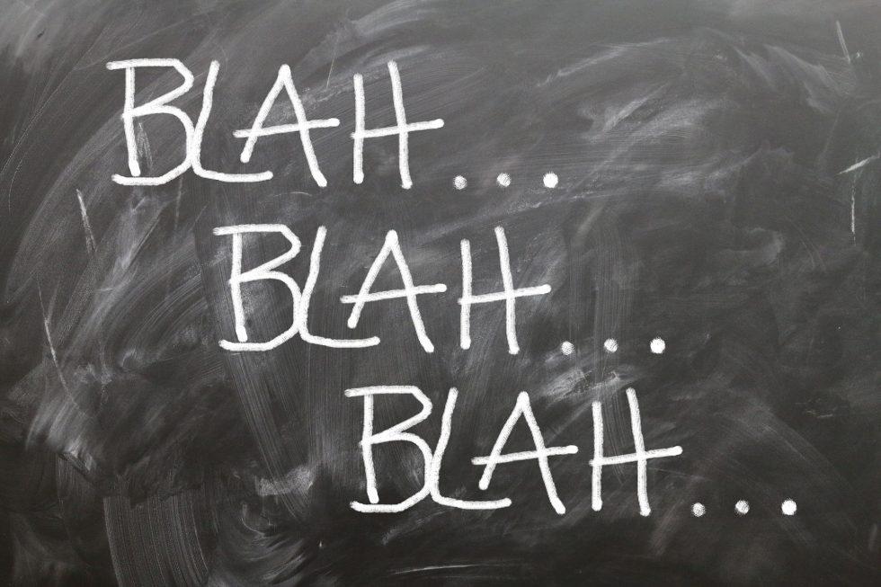 """Tre modi per azzittire i """"bla bla"""" che si sente dire chi insegue un sogno"""