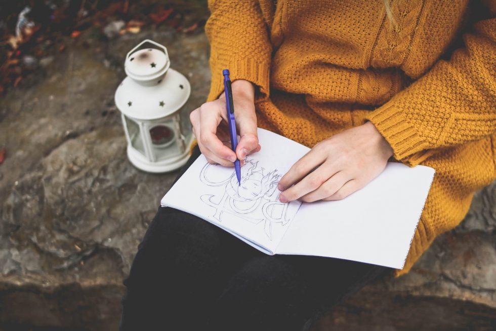 Come meditare disegnando
